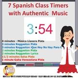 Spanish Class Timers with Reggaeton, Salsa, Joropo, Gaita