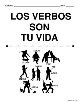 Spanish Class Verbs Packet