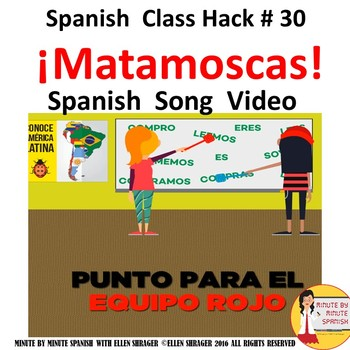 Spanish Class Hack: Transitions Video to Spanish Game of Flyswatter CI