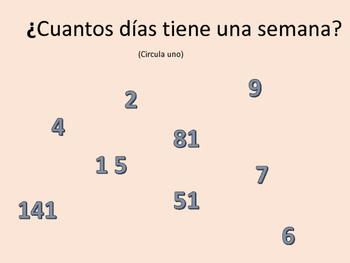 Spanish Class lesson help