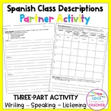 Spanish School Classes Descriptions Activity