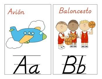Spanish Classroom Alphabet