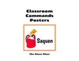 Spanish Classroom + Technology Commands Posters