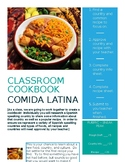Spanish Classroom Cookbook