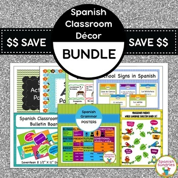 Spanish Classroom Décor Bundle