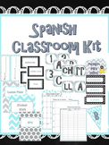 Spanish Classroom Decor and Teacher Binder