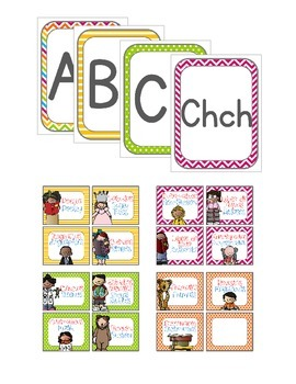 Spanish Classroom Decor Set