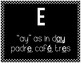 Spanish Classroom Decor, The Vowels in Spanish - Black & White
