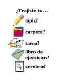 Spanish Class - Poster - Decoration - School Supplies - Cl