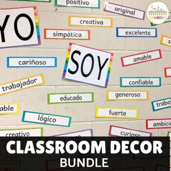Spanish Classroom Display BUNDLE