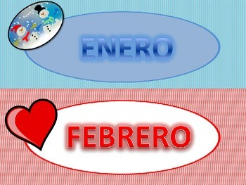 Spanish Classroom Display: Los Meses del Año