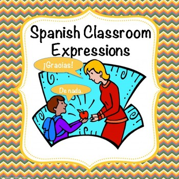 Spanish Classroom Expressions Vocabulary Worksheet And Quiz By Profe