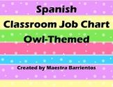 Spanish Classroom Job Chart