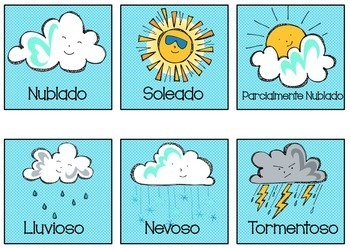 Classroom Label Set in Spanish- polka dots