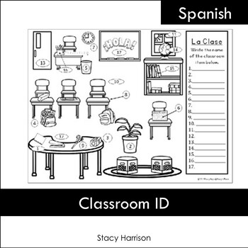 Spanish Classroom Picture ID