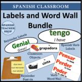 Spanish Classroom Labels and Decoration Bundle