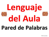Spanish Classroom Language Word Wall