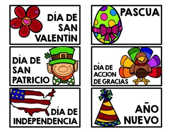 Spanish Classroom Library Book Labels