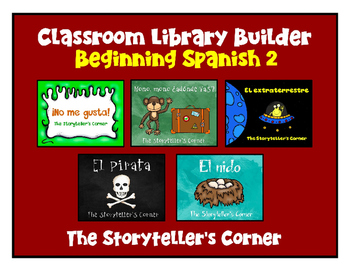 Spanish Classroom Library Builder - Set 2