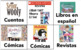 Spanish Classroom Library Labels FVR