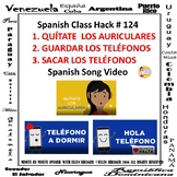 Spanish Classroom Management: Put Away the Phones and Air
