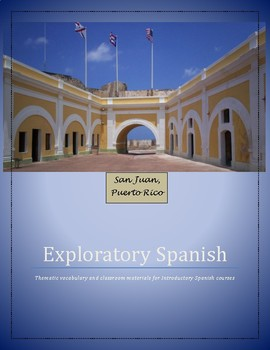 Spanish Course Materials for Exploratory Courses