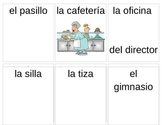 Spanish Classroom Objects Cards