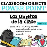 Spanish Vocabulary - Spanish Classroom Objects PowerPoint