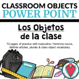 Spanish Class Objects Unit POWERPOINT