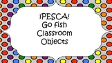 Spanish Classroom Objects Vocab - Go Fish Game