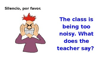 Spanish Classroom Phrases - Frases de la Clase de Español