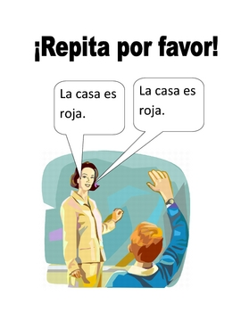 Spanish Classroom Phrases Poster Set