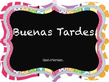 """22  Spanish """"Classroom Phrases"""" Word Wall Posters"""