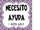 Spanish Classroom Phrases (Quatrefoil Theme)