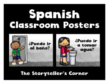 Spanish Classroom Posters