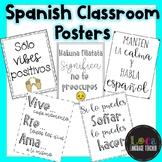 Spanish Classroom Posters