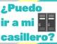 Spanish Classroom Posters - Bathroom, Locker, Etc.