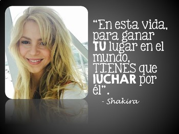 "14 Spanish Posters ""Quotes from Famous Hispanics"" Hispanic Heritage Month"