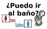Spanish Classroom Posters - common questions & phrases - part 1