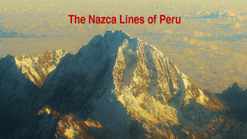 Spanish Classroom PowerPoint and Posters (Nazca Lines edition)
