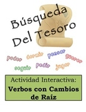 Spanish Stem-Changing Verbs Scavenger Hunt Activity