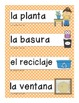 Spanish Classroom Signs and Labels/Graphics/ ESL,ELD,ELL,B