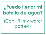 Spanish Classroom Signs (editable DOC)