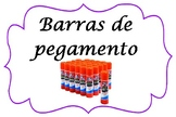 Spanish Classroom Supplies Labels