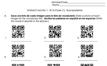 Spanish Classroom Unit (Noun Gender, Yes/No Questions, Classroom Vocabulary)