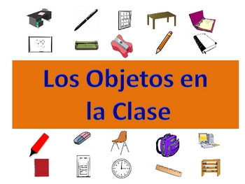 Spanish Classroom Vocabulary Powerpoint Activities and Games