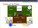 Spanish Classroom Vocabulary and Definite Articles