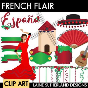 Spanish Clip Art Set