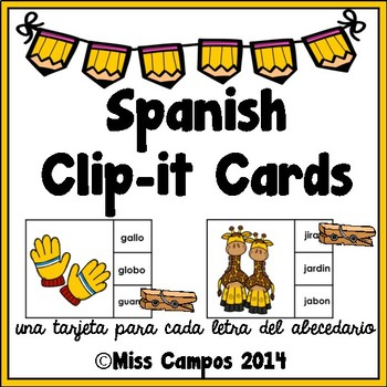 Spanish Clip It Center