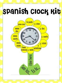 Spanish Clock Kit